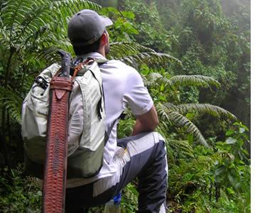 Guidad vandring längst Quetzalleden